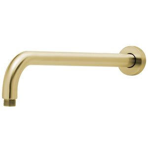 Phoenix Tapware Vivid Shower Arm Only 400mm (Round) (Brushed Gold) V6000-12