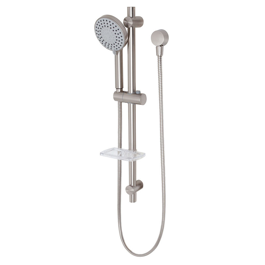 Phoenix Tapware Vivid Rail Shower (Brushed Nickel) V685BN