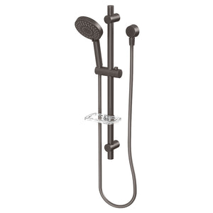 Phoenix Tapware Vivid Rail Shower (Gun Metal) V685GM