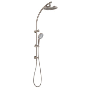 Phoenix Tapware Vivid Twin Shower (Brushed Nickel) V726BN
