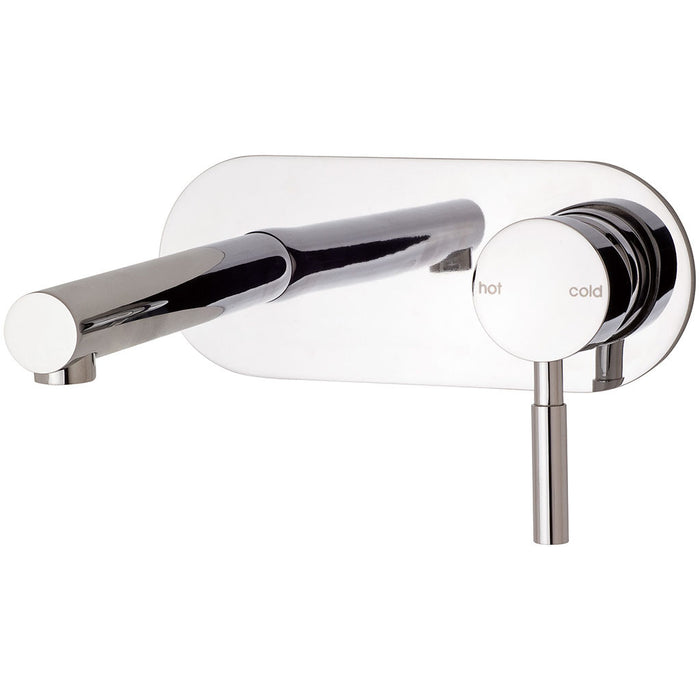 Vivid Wall Basin Set - 210mm Outlet (Chrome)