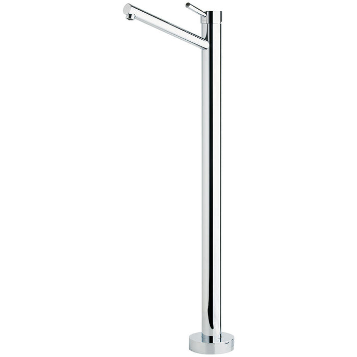 Vivid Floor Mounted Bath Mixer (Chrome)