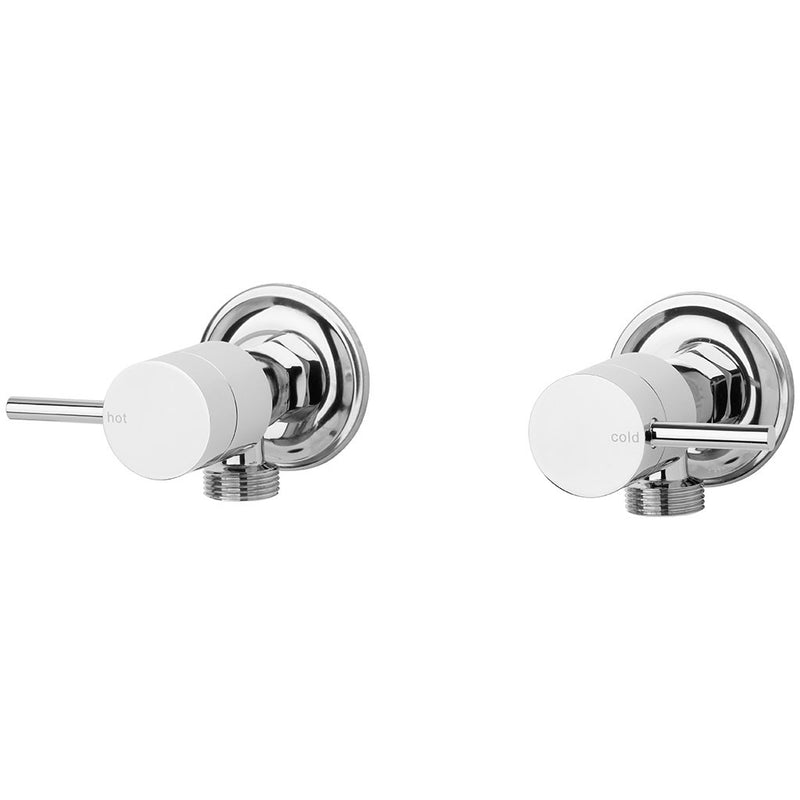 Phoenix Tapware Vivid Pin Lever Washing Machine Stops (Chrome) VP061CHR