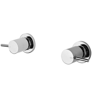 Phoenix Tapware Vivid Pin Lever Wall Top Assemblies 15mm Extended Spindles (Chrome) VP067CHR