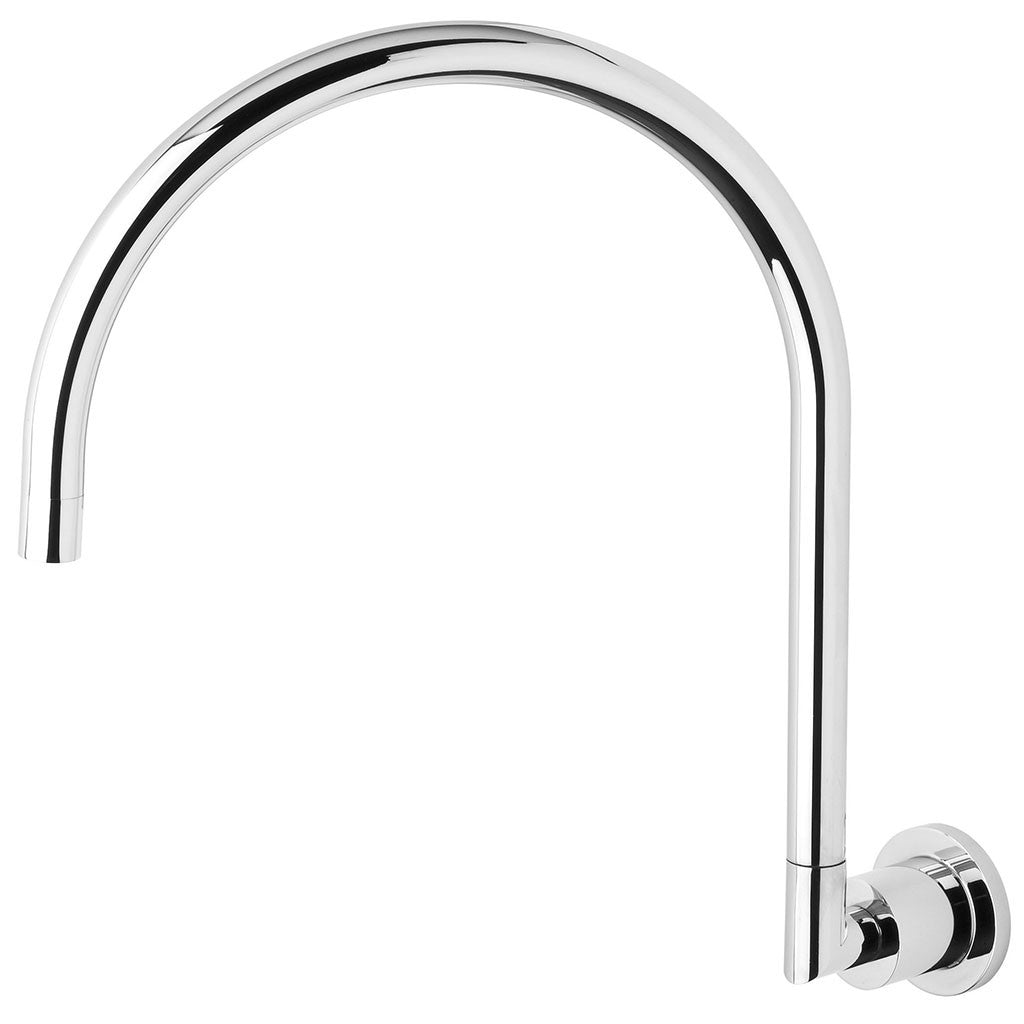 Phoenix Tapware Vivid Pin Lever Wall Sink Outlet Gooseneck (Chrome) VP073CHR