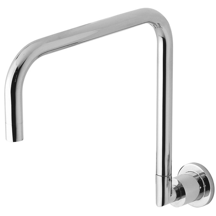 Vivid Pin Lever Wall Sink Outlet Squareline (Chrome)