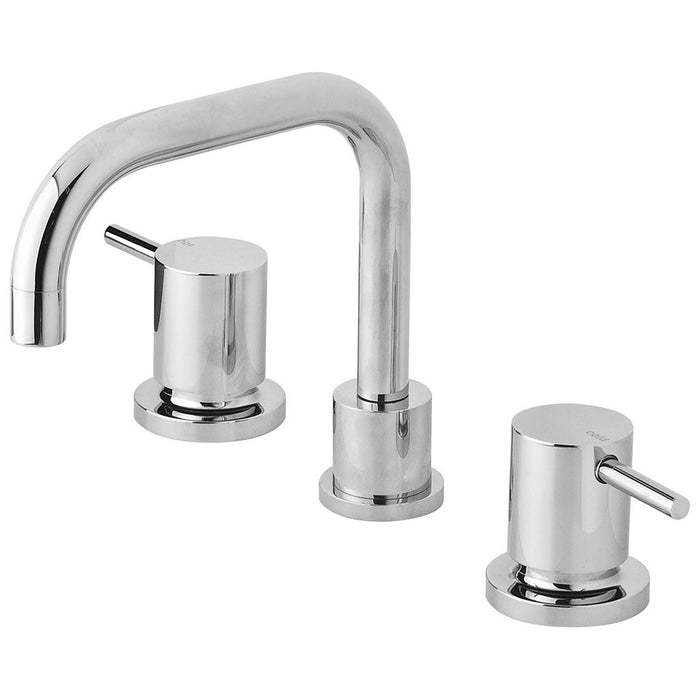 Vivid Pin Lever Basin Set Swivel Squareline Outlet (Chrome)