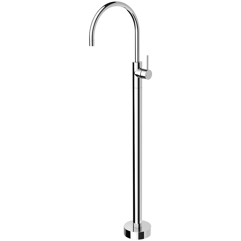 Phoenix Tapware Vivid Slimline Floor Mounted Bath Mixer (Chrome) VS745CHR