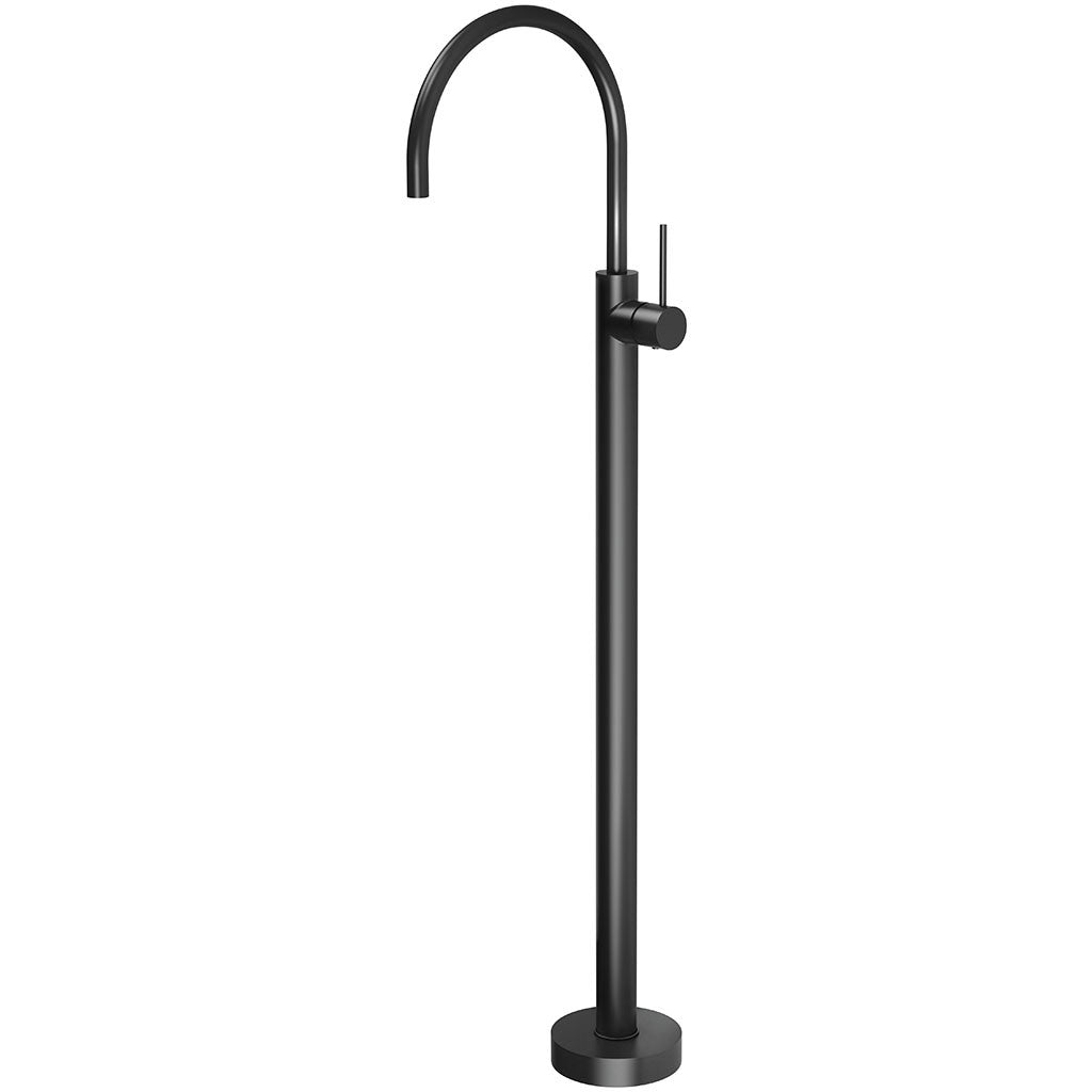 Phoenix Tapware Vivid Slimline Floor Mounted Bath Mixer (Matte Black) VS745MB
