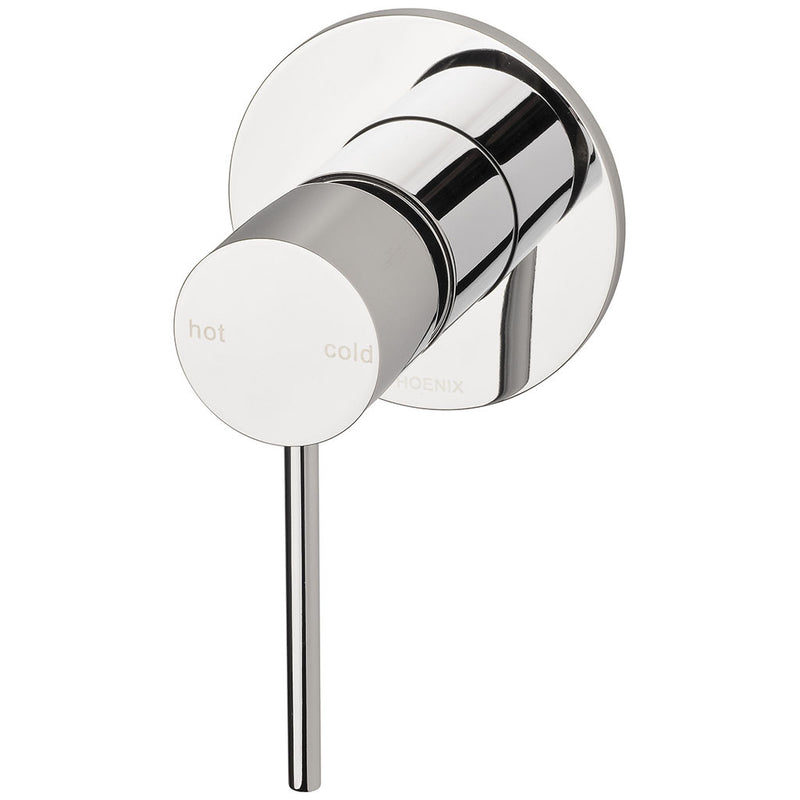 Phoenix Tapware Vivid Slimline Shower / Wall Mixer (Chrome) VS780CHR