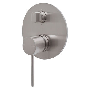 Phoenix Tapware Vivid Slimline Shower / Bath Diverter Mixer (Brushed Nickel) VS791BN