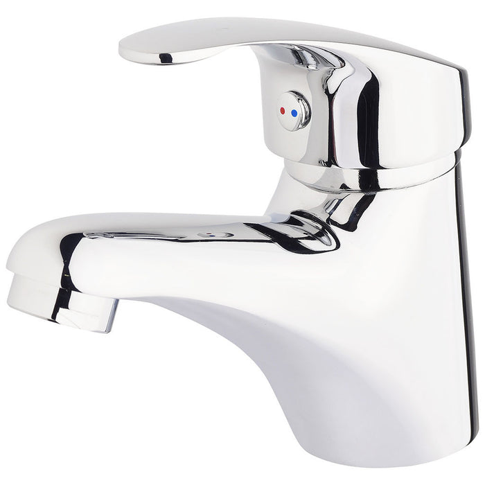 Ivy Slimline Basin Mixer Fixed (Chrome)