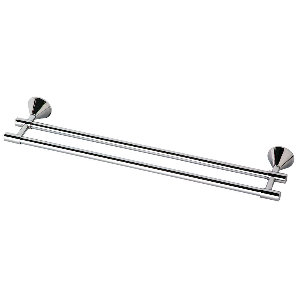 Phoenix Tapware Ivy Double Towel Rail 900mm (Chrome) YV812CHR