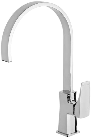 Argo Sink Mixer 200mm Gooseneck (Chrome)