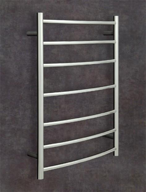 Thermorail Budget Heated Towel Rail Curved 7 Bars BC44M