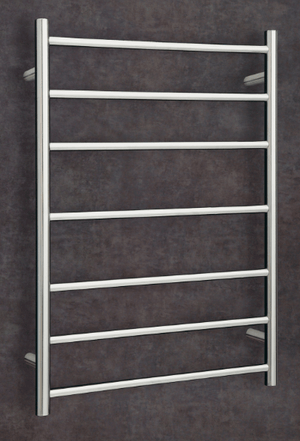 Thermorail Budget Heated Towel Rail Curved 7 Bars BS44M