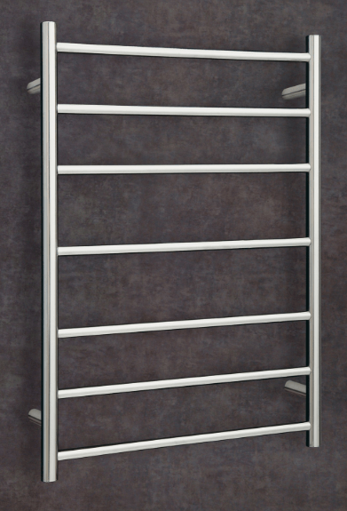 Thermorail Budget Heated Towel Rail Round 7 Bars BS44M