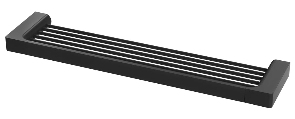 Gloss Shower Shelf (Matte Black)