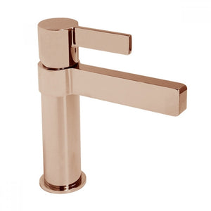 Martini Ritz Basin Mixer (Polished Rose Gold)