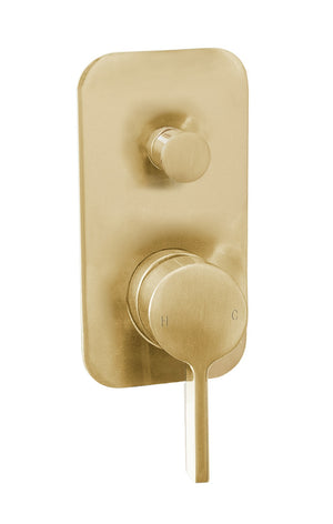 Martini Ritz Wall Diverter (Brushed Gold)
