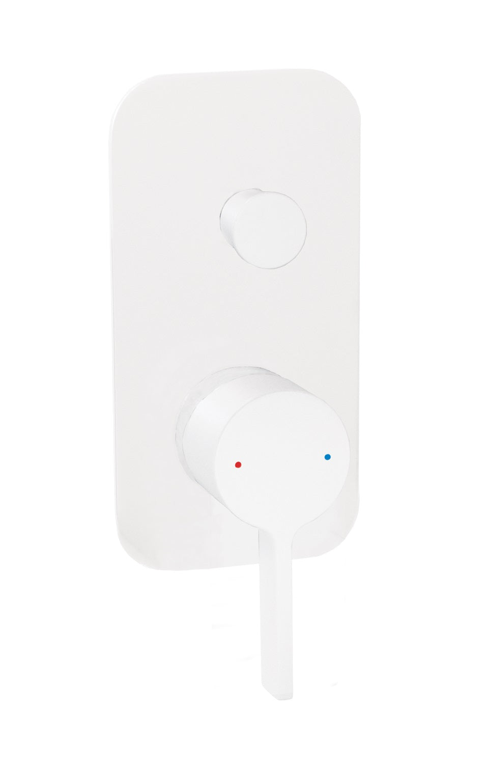 Martini Wall Diverter (Matte White)