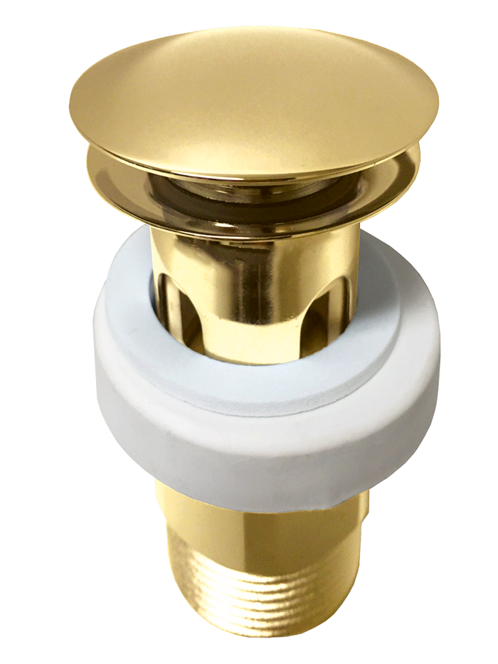 Jamie J Universal Pop-Up Plug & Waste (Polished Gold)