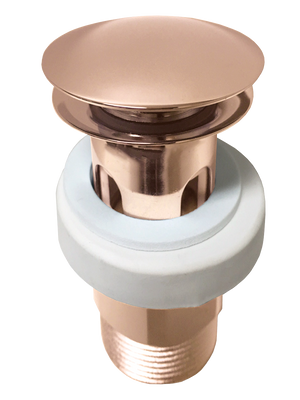 Jamie J Universal Pop-Up Plug & Waste (Polished Rose Gold)