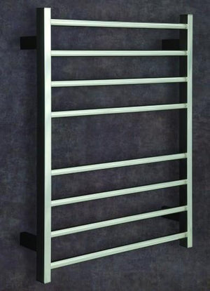 Thermorail Heated Towel Rail Rectangular Upright & Round Legs SRS54M