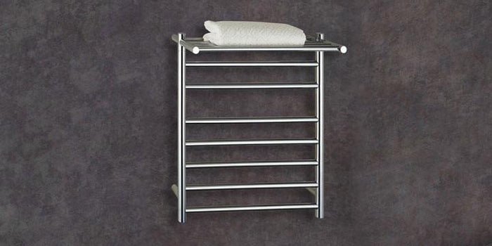 Thermorail Heated Towel Rail with Shelf SH44M