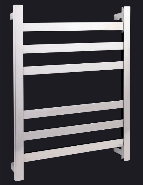 Thermorail Heated Towel Rail Square Upright and Flat Bars SFS44M