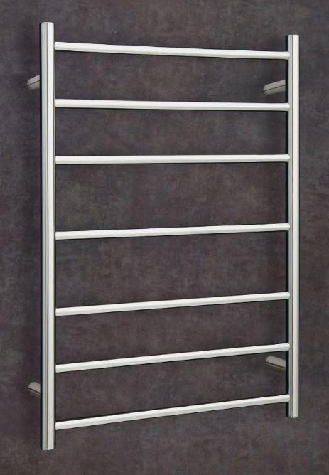 Thermorail Straight Round 12 Volt Ladder Heated Towel Rail