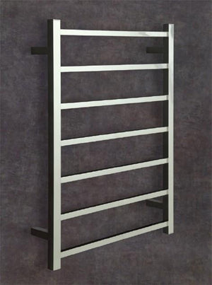 Thermorail Straight Square 12 Volt Ladder Heated Towel Rail