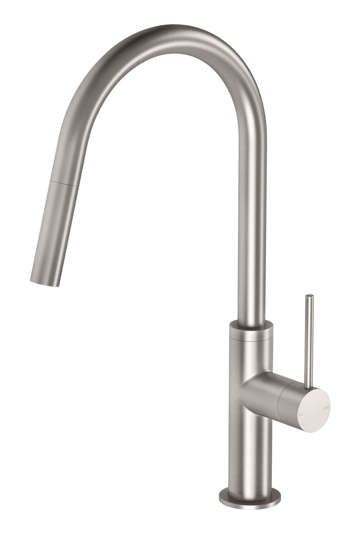 Vivid Slimline Pullout Sink Mixer (Brushed Nickel)