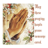 PRAYING HANDS T-SHIRT-T-Shirt-MENACE ®