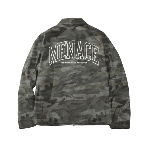 RECRUITMENT WORK JACKET  - MENACE LOS ANGELES - 7
