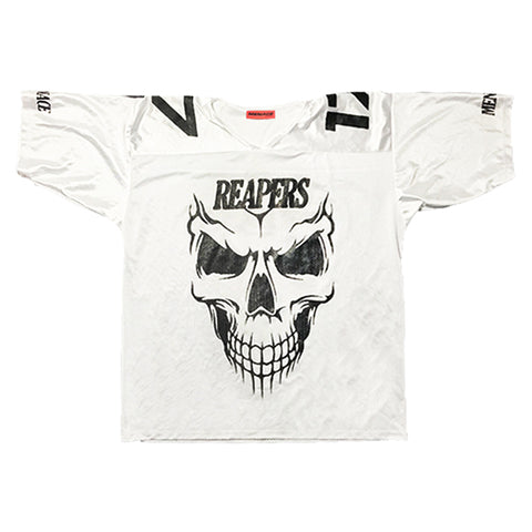 OVERSIZED REAPERS MESH FOOTBALL JERSEY