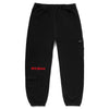 EMBOSSED CARGO SWEATPANTS by MENACE