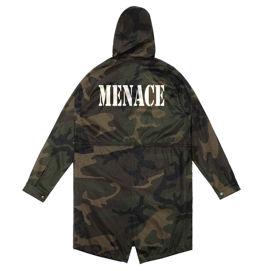 WOODLAND CAMO PARKA - MENACE LOS ANGELES