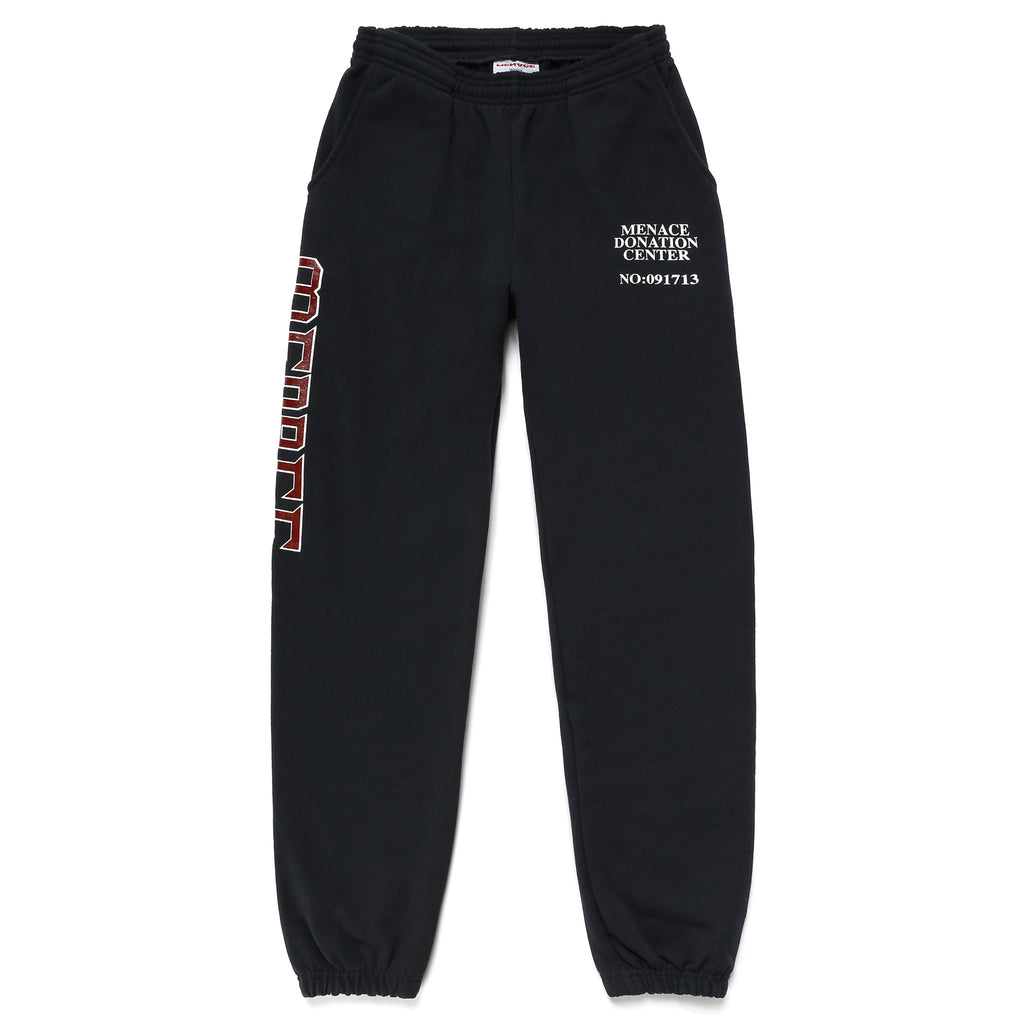 MENACE DONATION CENTER SWEATPANTS