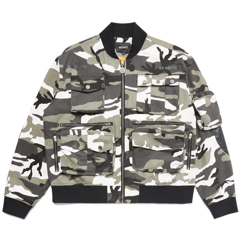TACTICAL SNOW CAMO BOMBER