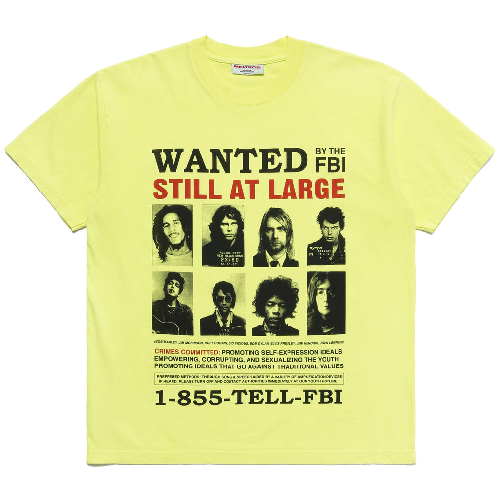 WANTED T-SHIRT - MENACE LOS ANGELES