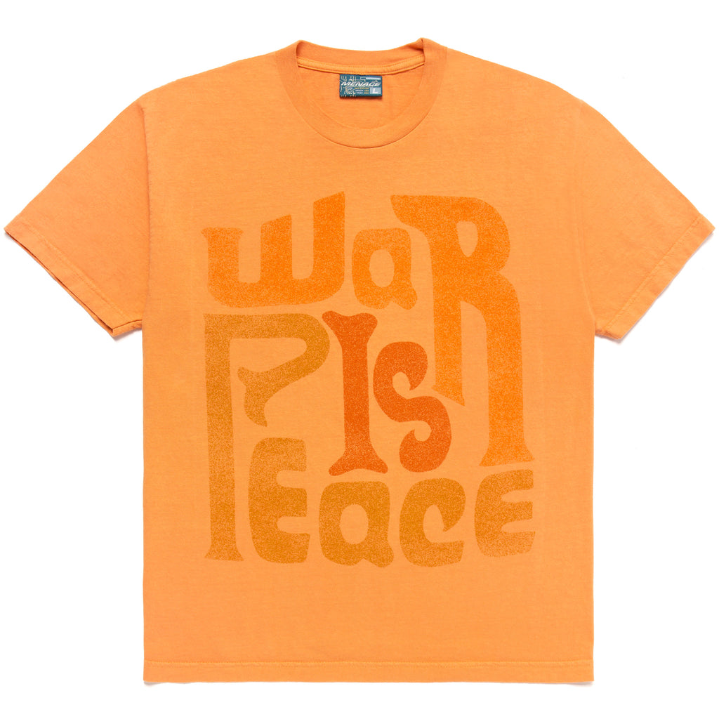 WAR IS PEACE T-SHIRT by MENACE