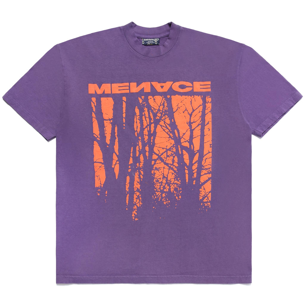 MY OWN HELL PUFF PRINT T-SHIRT by MENACE