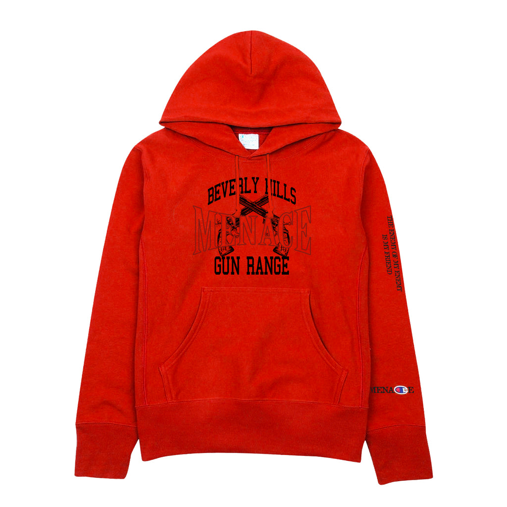 BEVERLY HILLS GUN RANGE HOODIE - MENACE LOS ANGELES