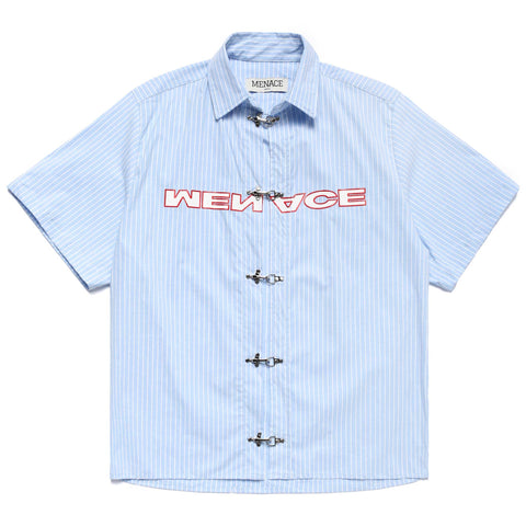 BLUE COLLAR CLASP COLLARED SHIRT
