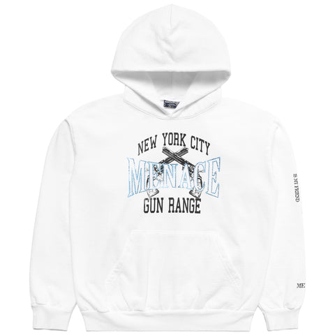 NEW YORK CITY GUN RANGE HOODIE (RHINESTONE EDITION)