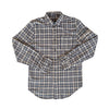 UTILITY FLANNEL BUTTON-UP SHIRT-Long-sleeve Button-up Shirt-MENACE ®