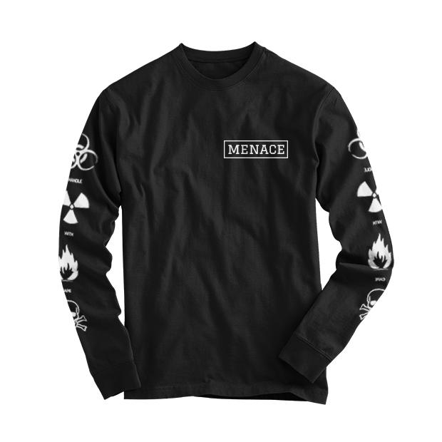 BAD 4 YA HEALTH LONGSLEEVE by MENACE