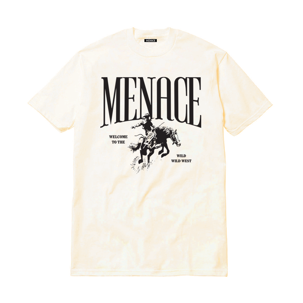 WILD WILD WEST T-SHIRT-T-Shirt-MENACE ®