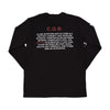 C.Q.B. LONGSLEEVE - MENACE LOS ANGELES